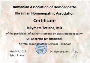 Tetiana Jakimiec Homeopata